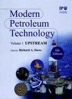 Cover image for Modern petroleum technology