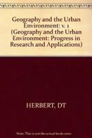 Cover image for Geography and the urban environment