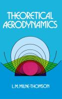 Cover image for Theoretical aerodynamics