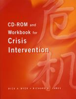 Cover image for CD-ROM and workbook for crisis intervention