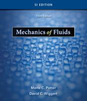 Cover image for Mechanics of fluids