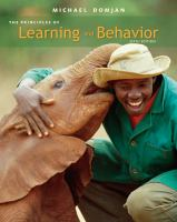 Cover image for The principles of learning and behavior