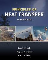 Cover image for Principles of heat transfer