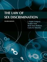Cover image for The law of sex discrimination