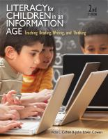 Cover image for Literacy for children in an information age : teaching reading, writing, and thinking
