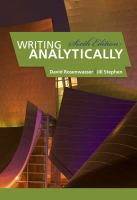 Cover image for Writing analytically