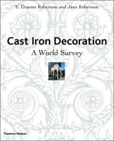 Cover image for Cast iron decoration : a world survey