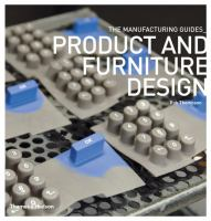 Cover image for Product and furniture design