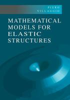 Cover image for Mathematical models for elastic structures