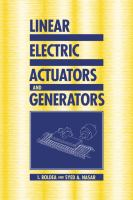 Cover image for Linear electric actuators and generators