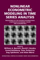 Cover image for Nonlinear econometric modeling in time series analysis : proceedings of the 11th International Symposium in Economic Theory and Econometrics