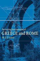 Cover image for Surveying instruments of Greece and Rome