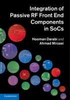 Cover image for Integration of passive RF front-end components in SoCs