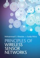 Cover image for Principles of wireless sensor networks