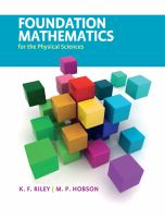 Cover image for Foundation mathematics for the physical sciences