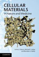 Cover image for Cellular materials in nature and medicine