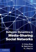 Cover image for Behavior dynamics in media-sharing social networks