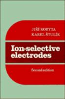 Cover image for Ion-selective electrodes
