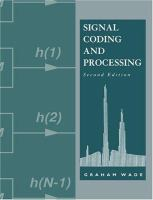 Cover image for Signal coding and processing