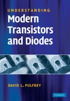 Cover image for Understanding modern transistors and diodes
