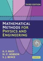 Cover image for Mathematical methods for physics and engineering