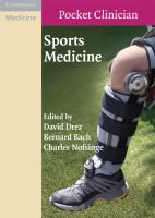 Cover image for Sports medicine