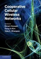 Cover image for Cooperative cellular wireless networks