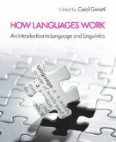 Cover image for How languages work : an introduction to language and linguistics