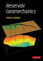 Cover image for Reservoir geomechanics