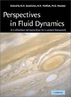 Cover image for Perspectives in fluid mechanics : a collective introduction to current research