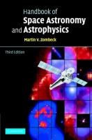 Cover image for Handbook of space astronomy and astrophysics