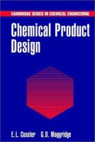Cover image for Chemical product design