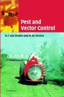 Cover image for Pest and vector control