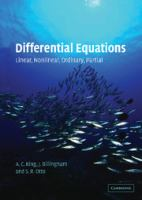 Cover image for Differential equations : linear,nonlinear,ordinary,partial