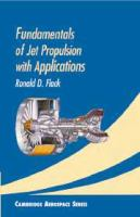 Cover image for Fundamentals of jet propulsion with applications