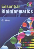 Cover image for Essential bioinformatics