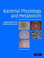 Cover image for Bacterial physiology and metabolism