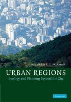Cover image for Urban regions : ecology and planning beyond the city