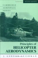 Cover image for Principles of helicopter aerodynamics