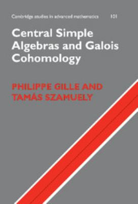 Cover image for Central simple algebras and galois cohomology
