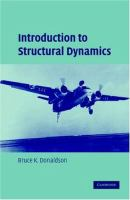 Cover image for Introduction to structural dynamics