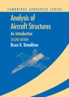Cover image for Analysis of aircraft structures