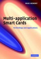 Cover image for Multi-application smart cards : technology and applications