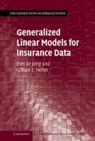 Cover image for Generalized linear models for insurance data
