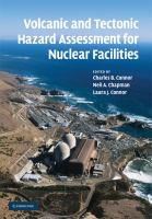 Cover image for Volcanic and tectonic hazard assessment for nuclear facilities
