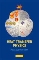 Cover image for Heat transfer physics