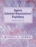 Cover image for Applied industrial/ organizational psychology