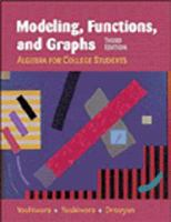 Cover image for Modeling, functions, and graphs :  algebra for college students