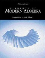 Cover image for Elements of modern algebra