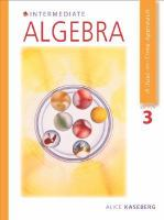 Cover image for Intermediate algebra : a just-in-time approach